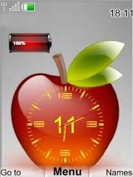 Themes Downloading Free Download Apple Clock Nokia Theme Mobile Toones