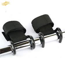 19D Professional <b>Weight Lifting Hook</b> Grip Strap Glove Wrist ₱239