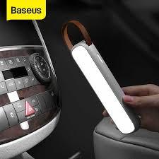 <b>Baseus Car</b> Interior Light <b>Reading</b> Lamp USB Rechargeable ...