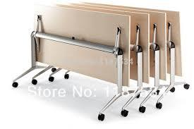 aliexpresscom buy foldable office table desk. Movable Wooden Foldable Training Table /folding Desk Steel Legs Base Office Conference Meeting Aliexpresscom Buy I