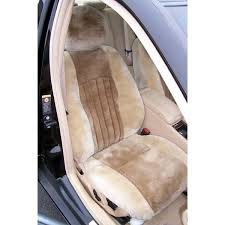 tailor made original sheepskin 1st row black seat covers