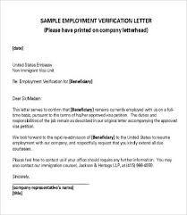 Request Employment Verification Letter Verification Of Employment Letter 12 Free Word Pdf