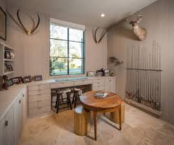 rustic modern office. Houston Cowhide Stools Home Office Transitional With Rustic Modern Lined Curtain Panel Pairs Fishing Rods S