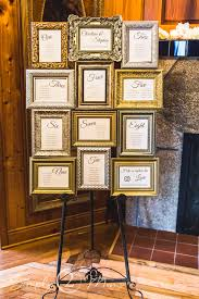 Picture Frame Seating Chart Diy Wedding Seating Chart Simply2moms