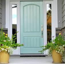blue-green color feng shui front door