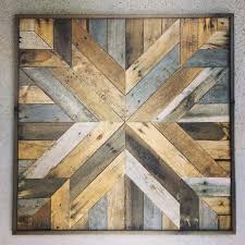 reclaimed wood wall art you ll love in