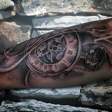 pocket watch tattoo designs for men pic pocket watch tattoo designs for men