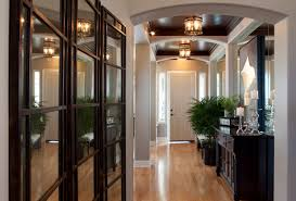 Home Entryway Glamourous Modern Home Entry Robeson Design