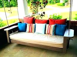 pallet bed swing instructions diy swing bed cushion how