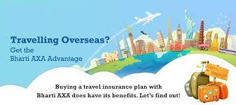 travel insurance for canada from bharti axa gi