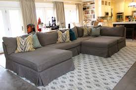 Interior: Modern Gray Sectional Sofa Has One Of The Best Kind Of ...