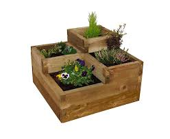 caledonian tiered raised bed forest