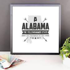 alabama state badge print alabama poster alabama wall art on alabama state wall art with alabama state badge print alabama poster alabama wall art us