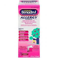 Children's Benadryl - Allergy Liquid Medication - Pharmacy - Treat ...