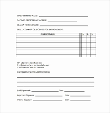 Employment Write Up Template Awesome Download Employee Write
