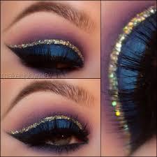 8 glitter crease line