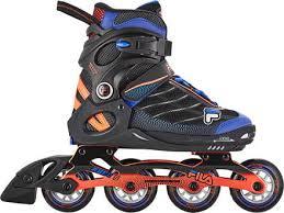 Fila Skates Size Chart Fila Wizy Alu Kids Rollerblades