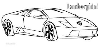 Small Picture Printable Lamborghini Coloring Pages For Kids Cool2bKids