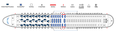 United Plane Seating Chart Revealed United 767 Polaris Cabin Layout Live And Lets Fly