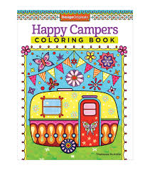 adult coloring books coloring books for adults jo ann adult coloring book design originals happy campers