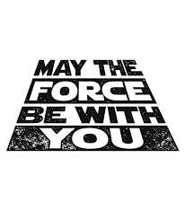 May the Force be with you Star Wars Darth Vader Print Printable Quote for  Star Wars Day! Instant Download o… | Imagens star wars, Astronomia e  astrologia, Star wars