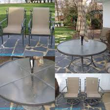 painting aluminum patio furniture best of powder coated