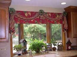 Jc Penneys Kitchen Curtains Kitchen Accessories Kitchen Curtain Ideas For Bay Windows Burgundy