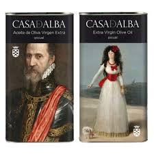 Olive Oil Casa de Alba Duque and Duquesa - spanish-oil.com
