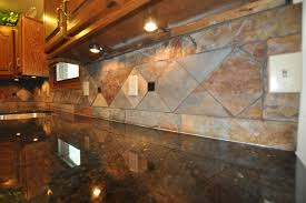 slate tile backsplash spaces eclectic with none image by supreme surface inc