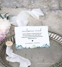 020 Template Ideas Baby Shower Gift Registry Cards Templates