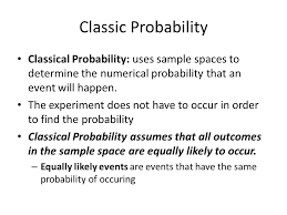 Aim: How do we find the probability of a simple event? Complete ...