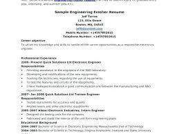 Standard Resume Format International Template Get Sample Download