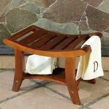bathroom shower stools cedar shower bench bathroom shower bench