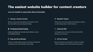 Creator Sites The Website Builder And Commerce Platform