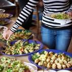 Hoeveelheid eten per persoon buffet