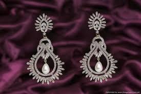 diamond chandeliers earring