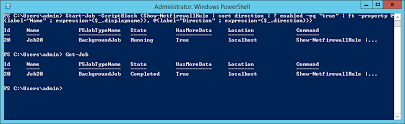 Automating Day-To-Day Powershell Admin Tasks - Jobs And Workflow ...