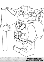 Small Picture Lego Star Wars Santa Yoda Christmas Yoda Coloring Page