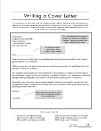 Writting A Covering Letter