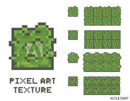 pixel art 8 bit game sprite illustration green grass tree pixelated