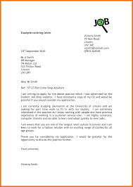 Cover Letter Sample Retail Retail Assistant Cover Letter Example