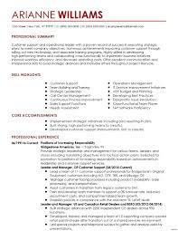 Resume Job Description In Resume