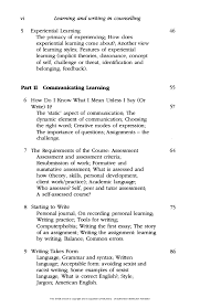 learning and writing in counselling jpg cb  7 vi learning and writing in counselling