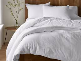 Organic Cotton Bedding Sets and Natural Linens | Coyuchi & Monterey Organic Duvet Cover Adamdwight.com