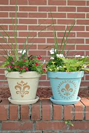 a simple painted flower pot project beautify your garden with this flower pot painting idea