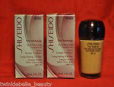 shiseido the makeup dual balancing foundation spf 15 30ml 1 1 oz u pick