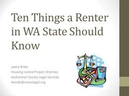 Image result for washington state renters rights