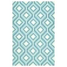 indoor outdoor rug blue escape blue 8 ft x ft indoor outdoor area rug heinen blue