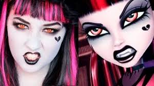 doll costume makeup tutorial for cosplay or popscreen kittiesmama middot monster high monster high gothic draculaura makeup tu 8 months ago