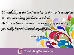 Inspirational Friendship Quote ComfortingQuotes Delectable Inspirational And Friendship Quotes